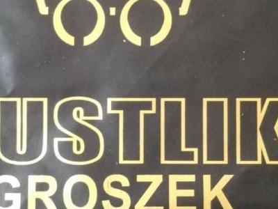 Etykieta węgla Gustlik groszek